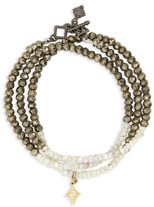 Armenta Old World Triple Wrap Bead Bracelet