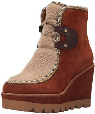 See by Chloe Women's Klaudia Wedge Fashion Boot
