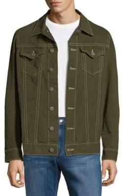 Long Sleeves Cotton Button-Down Shirt
