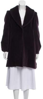 Asprey Llama Short Coat Purple Asprey Llama Short Coat