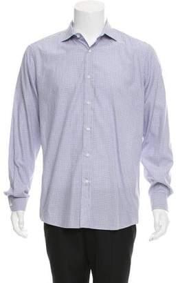 Ralph Lauren Black Label Plaid Button-Up Shirt