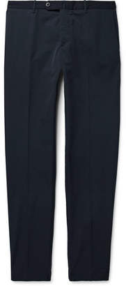 Incotex Urban Traveller Navy Slim-fit Tech-twill Trousers - Navy