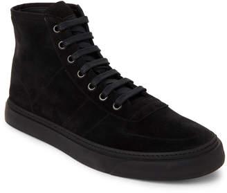 Marc Jacobs Black Suede High-Top Sneakers