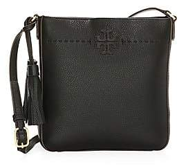 Tory Burch Women's McGraw Leather Crossbody Bag