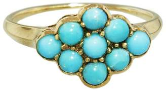 Lori McLean Turquoise Nine Stone Ring