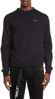 Off-White Slim Fit Crewneck Sweatshirt