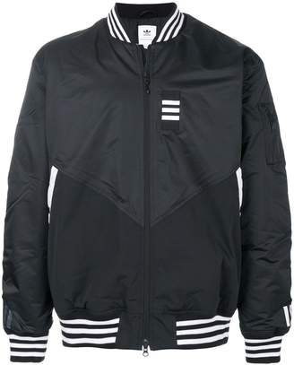 White Mountaineering Adidas By zipped windbreaker