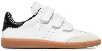 Isabel Marant white beth leather sneakers