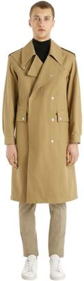 Maison Margiela Heavy Cotton Twill Military Coat