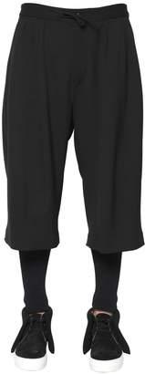 Ports 1961 Stretch Wool Cotton Twill Bermuda Shorts