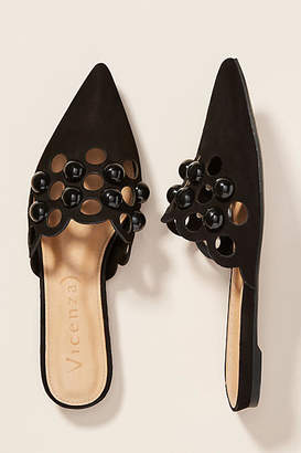 Vicenza Studded Cut-Out Flats