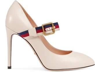Gucci Sylvie leather pump