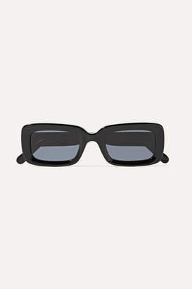 Stella McCartney Square-frame Acetate Sunglasses - Black