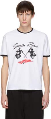 McQ White Racing Santa Rosa T-Shirt