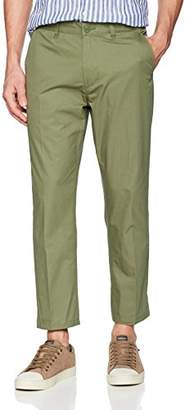 Obey Men's Straggler Light Flooded Pant