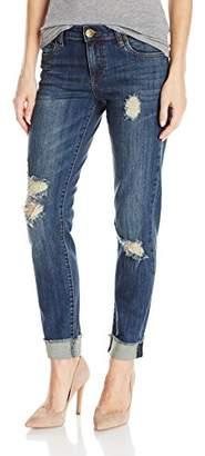Armani Jeans Women's High Rise Stretcth Slim Fit Denim