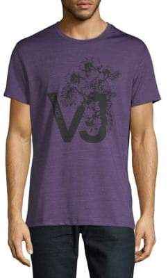 Versace Mouline Stretch Jersey Tee