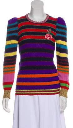 Gucci 2016 Wool & Cashmere-Blend Sweater