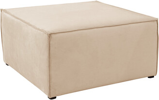 Skyline Furniture French Seamed Sectional Ottoman
