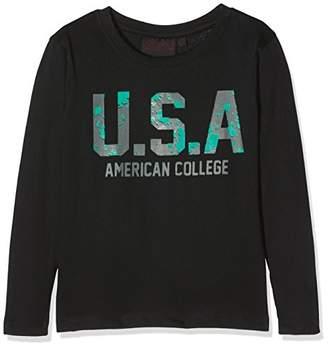 American College Boy's JMARK Long-Sleeved Top, (Black)