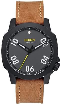 Nixon Ranger 40 Leather Watch