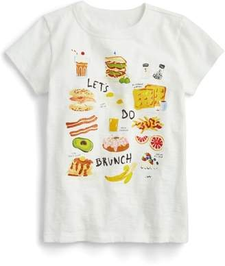 J.Crew crewcuts by crewcuts by J. Crew Let's Do Brunch Graphic Tee