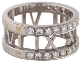 Tiffany & Co. 18K Diamond Atlas Ring
