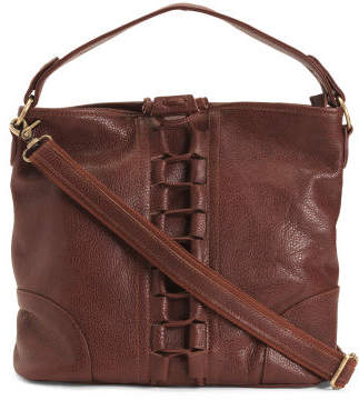 Mandy Lined Leather Bag