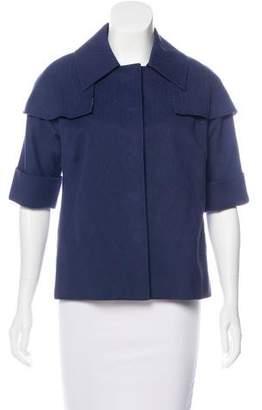 Lela Rose Patterned Lightweight Jacket