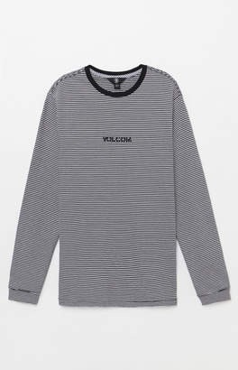 Volcom Borough Striped Long Sleeve T-Shirt