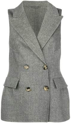 Ermanno Scervino tailored double-breasted waistcoat