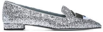 Chiara Ferragni Glittery Slippers