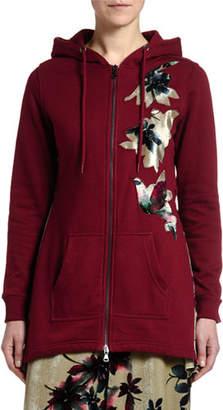 Antonio Marras Floral Applique Sweatshirt