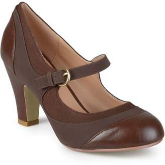 Co Brinley Women's Tweed Two-Tone Mary Jane Pumps