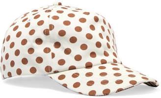 Zimmermann Exclusive Polka-dot Cotton-twill Baseball Cap - White