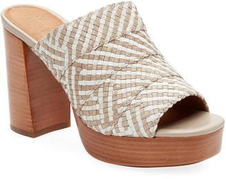 Frye Katie Woven Platform Sandal