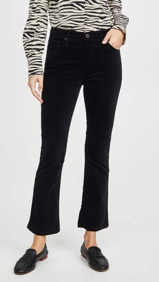 AG Jeans The Jodi Velvet Crop Pants
