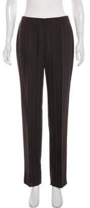 Dolce & Gabbana Wool High-Rise Skinny Pants