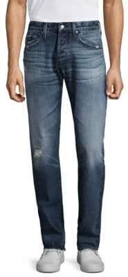 AG Jeans Cotton Slim Straight Jeans