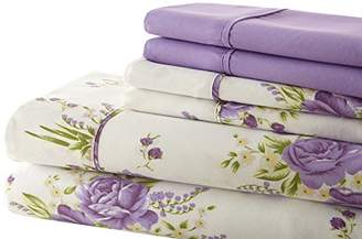 +Hotel by K-bros&Co Spirit Linen Hotel 5Th Ave Palazzo Home 6-Piece Luxurious Printed Sheet Set
