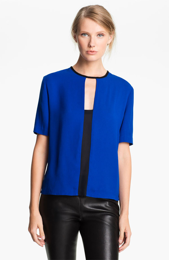 A.L.C. Colorblock Blouse