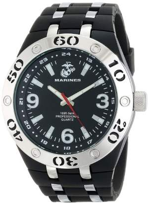 Wrist Armor Men's 37100004 C22 Analog Display Quartz Watch with Rubber Strap