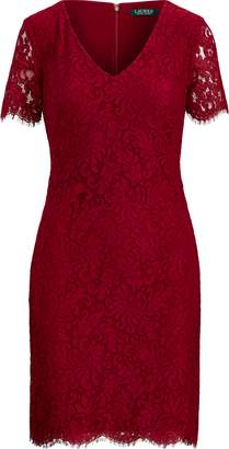 Ralph Lauren Scalloped Lace Dress