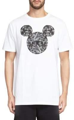 Marcelo Burlon County of Milan Mickey Mouse Snake Graphic Tee