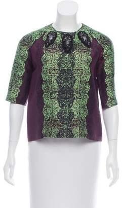 Marissa Webb Wool & Silk Top