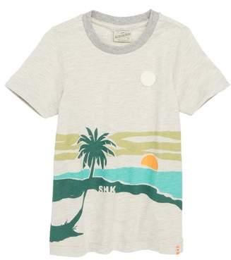 Scotch Shrunk Screenprint T-Shirt