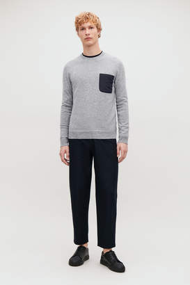 Cos LAMBSWOOL JUMPER WITH POCKET