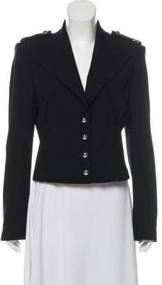 Michael Kors Wool Peak-Lapel Jacket