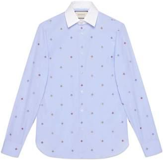 Gucci Bee fil coupé shirt