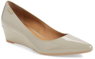 Women's Calvin Klein 'Germina' Pointy Toe Wedge $108.95 thestylecure.com